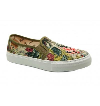 zapatilla vitoria slippers flores