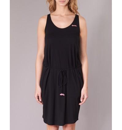 Vestido negro para mujer BENCH Twist Jersey Dress
