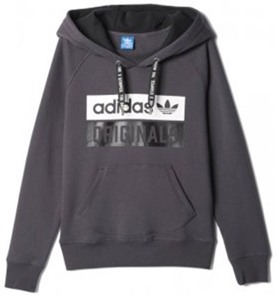 Sudadera cerrada capucha Adidas