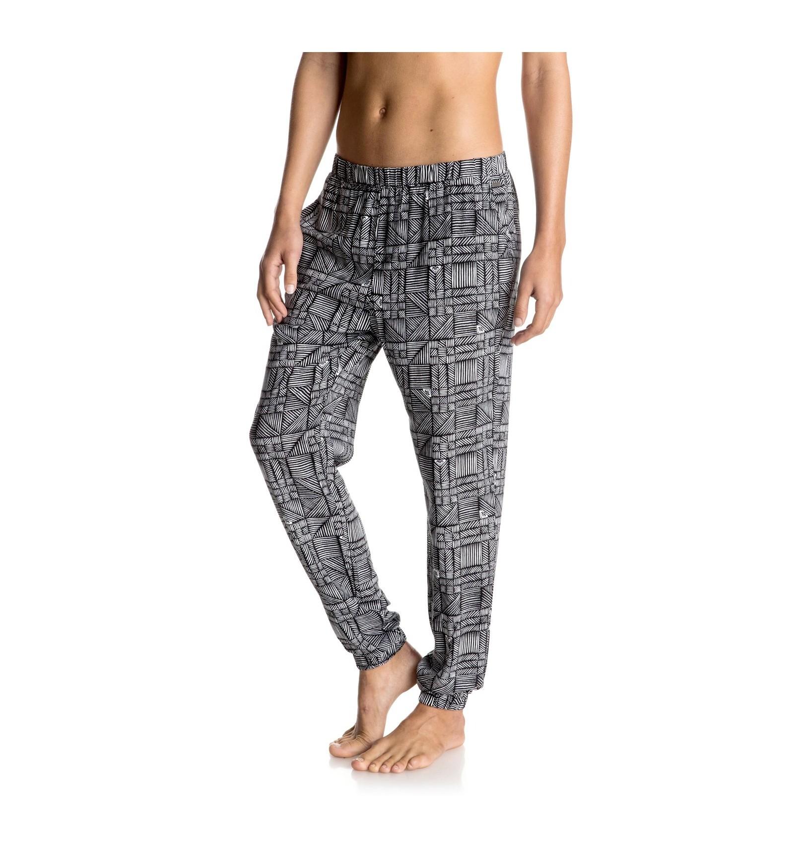 Pantalon Tela Roxy Mujer Vicunasport Tu Tienda De Deportes En Internet
