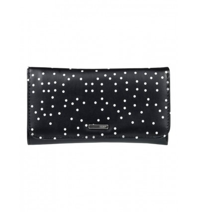 CARTERA TOPITOS NEGRA ROXY