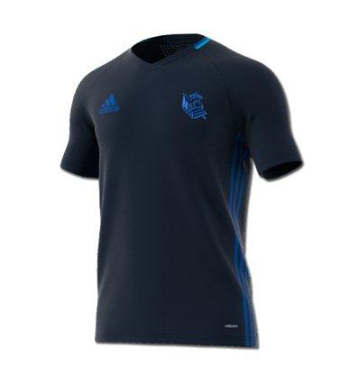 Camiseta entreno Real Sociedad adidas