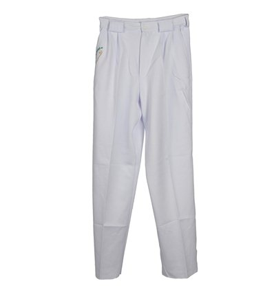 Pantalon pelotari junior blanco Euskalduna